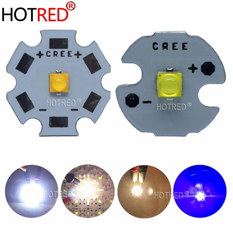 10pcs Cree Xlamp XP-G3 Series XPG3 S4 LED Chips 1-7W 2000mA Diode Cool Warm White Royal Blue Emitter 777lm With PCB