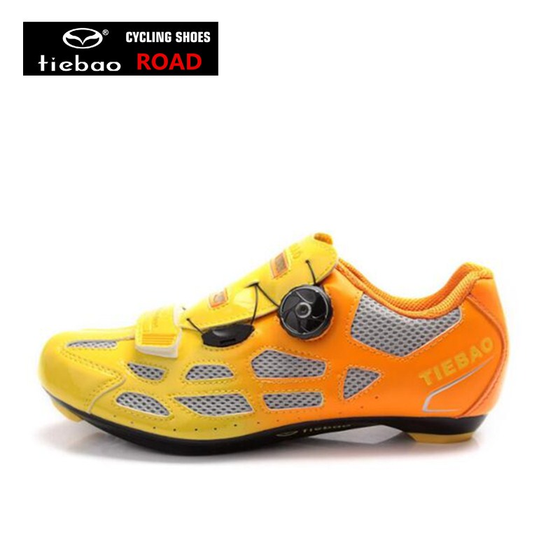 TIEBAO road bike shoes cycling sneakers bicycle superstar bisiklet equitation women racing sports bike shoes zapatilla hombre tiebao professional road shoes rotating screw steel wire with fast cycling shoes road bike shoes tb16 b1259