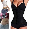 S-6XL Firm  Waist Belly Tummy Corset Body Shaper Underbust Corset Black/Beige Weight Loss Ampulheta Waist Trainer Cincher