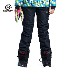 2016 Winter Snowboard Pants For Couple Thicken Ski Pants Mens & Womens Snow Trousers Thermal Waterproof Esqui Skiing Pantalones