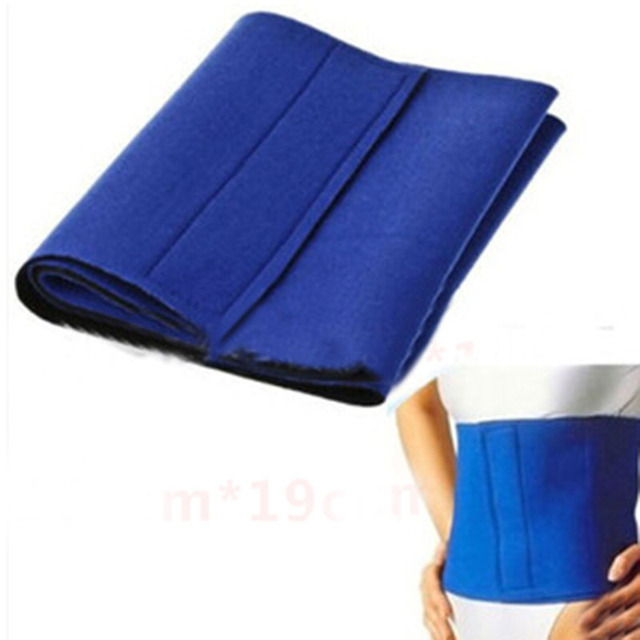Hot Sale 1 Piece Fat Cellulite Slimming Exercise Waist Sweat Belt Body Wrap Tonsee Drop Shipping