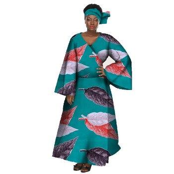 060693b11ee0 Bufanda de cabeza africana a la moda turbante Bazin Riche estampado algodón  cera África bufandas ...