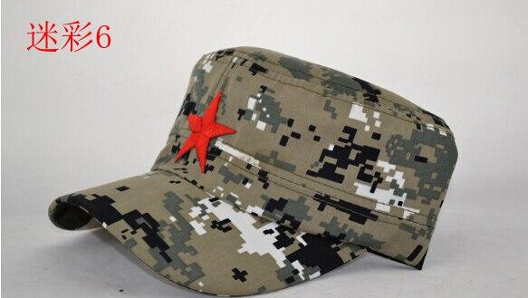 10 шт./лот Мужская модная Для мужчин Для женщин Бейсболки для женщин Защита от солнца козырек армейские камуфляжные армейские солдат Спорт Кепки