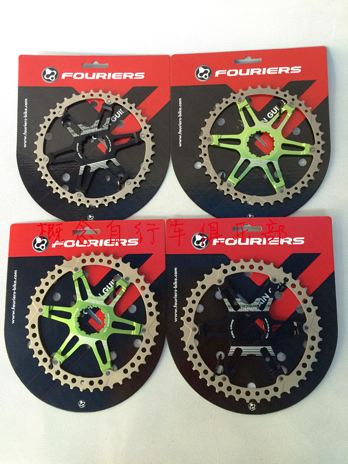 Fouriers CR-DX008-SK2 CNC Two Piece Rear Sprocket 40T 42T BICYCLE Chain Ring Bike Chainrings Mage SK2 For 10 Speed - Cassette cnc al7075 oval single chainring chain ring bcd 96 40t 42t 44t crank 1 x speed for shimano fouriers