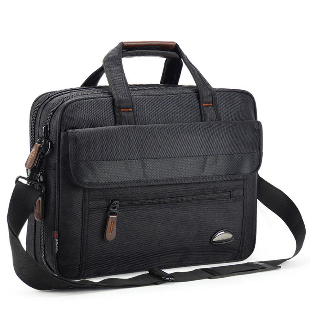 14 to 15 inch Business Travel Handbag for Tablet Laptop Waterproof Nylon Computer Portfolio Briefcase Messenger Bag for Macbook new cool bell brand nylon handbag messenger bag for notebook 15 15 6 inch bag for macbook 15 4 laptop free drop shipping 2618