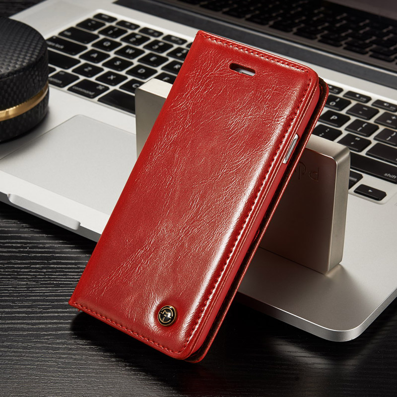Magnetic Flip for iPhone 7 Case 8Plus Leather Luxury Book Wallet Cover for iPhone 7 Plus 360 Shockproof Holder Cards Accessories