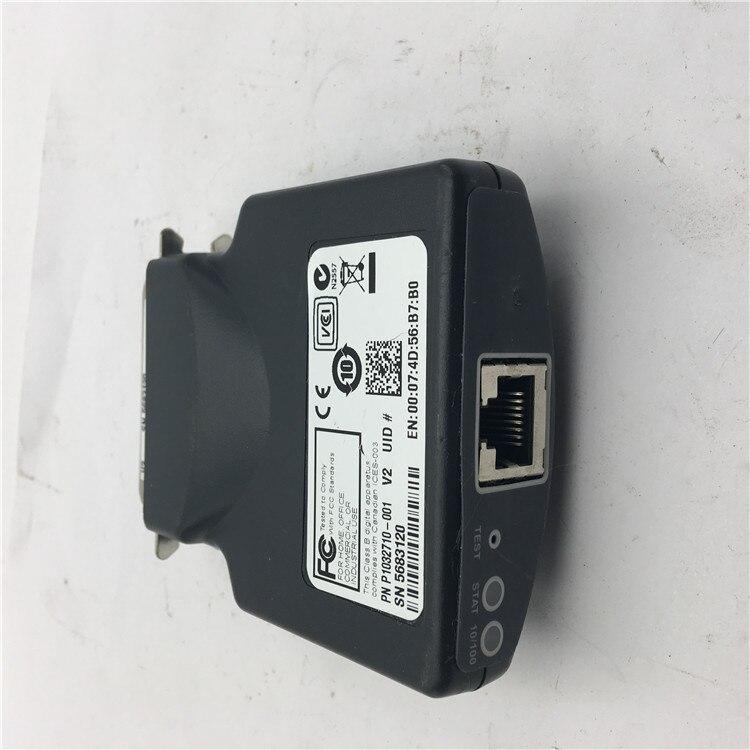 Zebra Ethernet External Print Server ZebraNet 10//100 P1031031