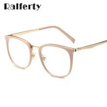 Ralferty модная рамка для очков женские прозрачные оправы для очков оптические корректирующие очки при близорукости oculos de grau F92128