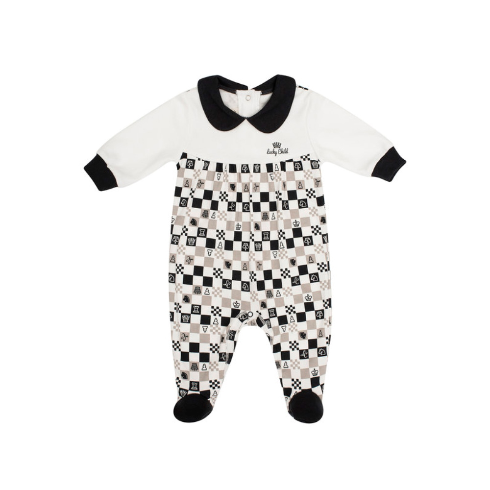 Jumpsuit Lucky Child for girls and boys 29-13D Children's clothes kids Rompers for baby 50cm reborn dolls boys silicone reborn baby dolls toys for girls gift novelty lifelike baby newborn doll include clothes and hat
