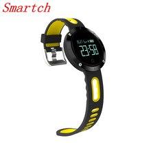 Smartch сердечного ритма крови Давление DM58 Smart Band IP68 Водонепроницаемый Браслет фитнес-трекер спортивные часы smartband для iOS Androi