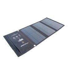 Kernuap 15w 21 28 carregador solar portátil para o telefone móvel de acampamento viagem dobrável painel energia carregamento com portas usb duplas