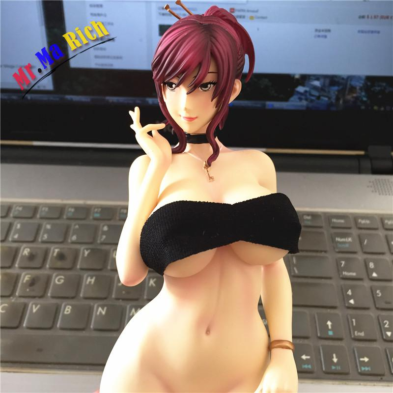 Anime GK Sexy 12  Starless sex girls Cast Off Big Breasted Resin Sexy Action Figure Collection Model Toy free dhl ems anime monobeno sexy lovely girl figures sex naked swimsuit 1 6 gk resin figure collection model toys adult gift
