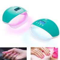 Mini Auto Sensor LCD Display UV LED Nail Lamp Light Manicure Gel Polish Dryer New Arrival