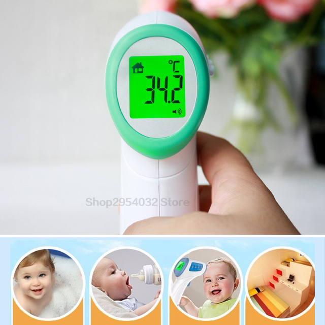 Digital Non-contact Infrared Thermometer Baby Adult