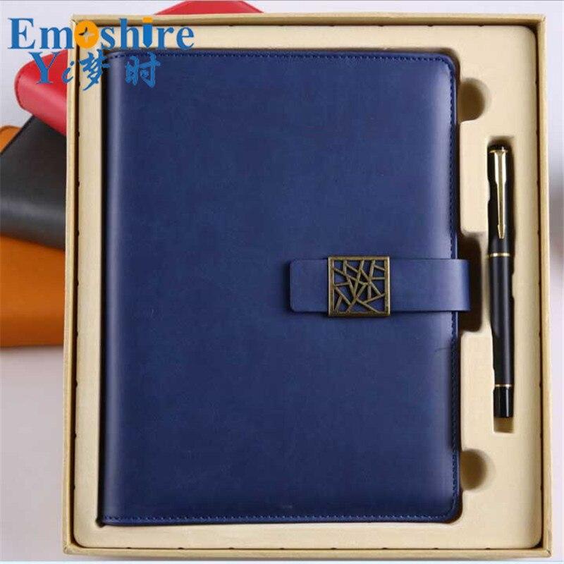 de negocios high end personalizado loose leaf notepad note 02