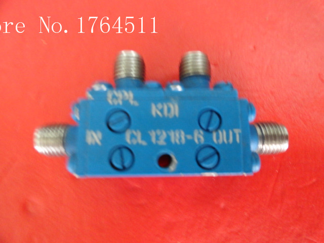 [BELLA] KDI CL1218-6 12-18GHz Coup:6dB SMA Coaxial Directional Coupler