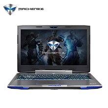 Алюминий Игровой Ноутбук Machenike F117-F6K SSD 256 ГБ Intel Core i7-7700HQ GTX1060 6 ГБ RAM 8 ГБ DDR4 Ноутбук 15.6 »1080P FHD IPS