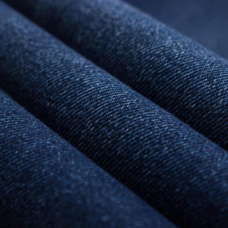 2019 Nieuwe herfst katoen Jeans Mannen Hoge Kwaliteit Beroemde Merk Denim broek zachte heren broek jean mode Grote Big size 40 42 44