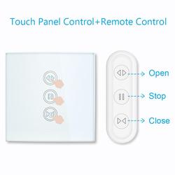 Tuya Smart Life RF WIFi Smart Curtain Blinds Roller Shutter Switch Google Home Alexa Echo Voice Control Smart Home App Timer