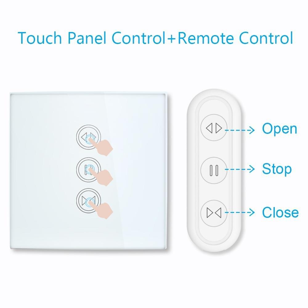 LoraTap Interrupteur Module Volet Roulant Connect/é Minuterie Intelligent Moteur Mural Commutateur Rideau Stores WiFi Compatible avec Alexa Google Home pour Commande Vocale