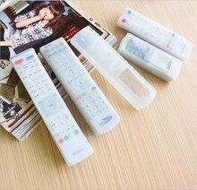 Пыль чехлы кондиционер тв защитные видео обложка силиконовые дистанционного протектор управления