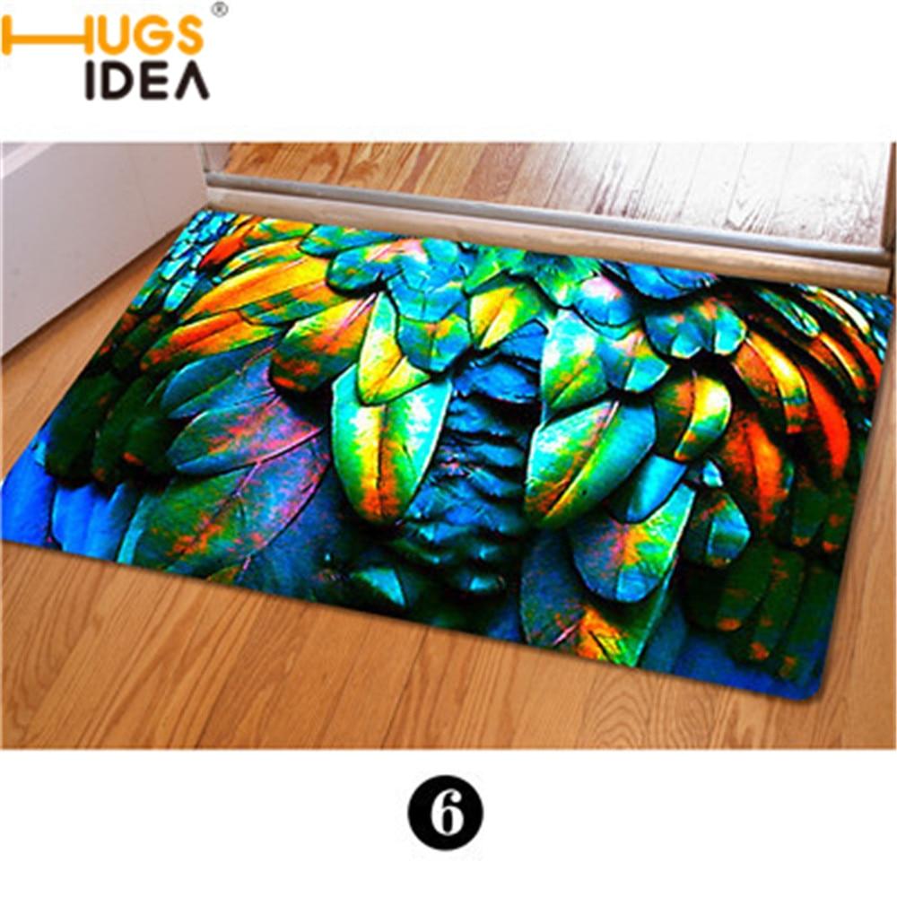 Funny bathroom rugs - Camo Animal Fur Printed House Doormats Multi Color Bedroom Carpet Funny Kitchen Doormat Carpet Anti Slip Welcome Floor Rugs
