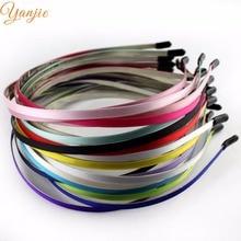 Hairband Ribbon Hair-Accessories Metal Colored Kids Children for Headwear-Head Hood 20pcs/Lot