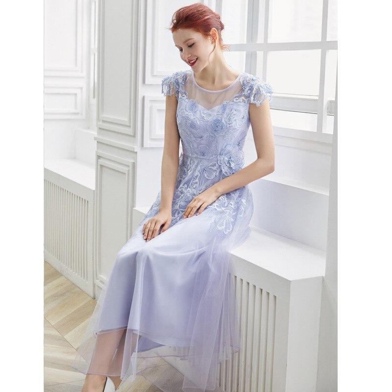 Designer Vintage Femmes Bleu Violet Ciel Qualité Été Pixy Longues Piste Tenue Robes Pu Fiesta Élégant Vêtements pourpre Supérieure Fête De vO1OqS