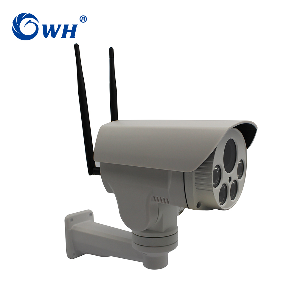 CWH G3D GSM Security Surveillance CCTV Waterproof Outdoor Wireless 4G IP Camera PTZ P2P ONVIF SIM Slot Max 128G SD Card Slot