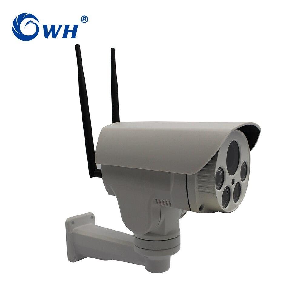 CWH G3D GSM sécurité Surveillance CCTV étanche extérieur sans fil 4G IP caméra PTZ P2P ONVIF SIM Slot Max 128G SD carte Slot
