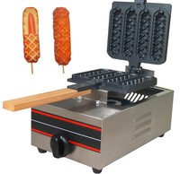 Gas style Philippine muffin hot dog machine_hotdog waffle machine