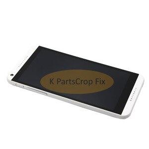 Image 5 - 100% testowane do HTC Desire 816 LCD ekran dotykowy z ramką dla HTC Desire 816 wyświetlacz montaż Digitizer 816D 816 T D816W D816