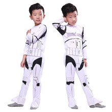 Star Wars Empire Storm Commando White Soldier Fantasy Cosplay Costume Comic Movie Carnival Party Purim Halloween