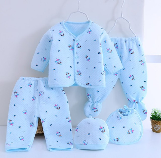 bd1e53ec9b2e Aliexpress.com   Buy (5pcs set)Newborn Baby 0 3M Clothing Set Brand ...