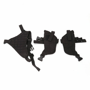 Image 4 - 2019 Hunting Accessories universal Two pcs hidden Pistol Gun holster with MAG POUCH Tactical Double Shoulder Armpit Holster