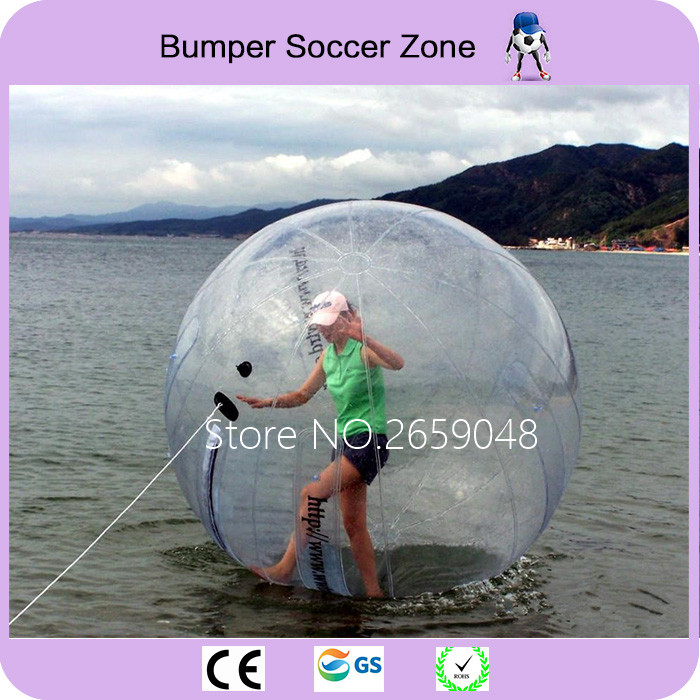 Outdoor Fun & Sports Free Shipping 2m Water Walking Ball Walk On Water Ball Water Sports Balloon Water Zorb Ball Inflatable Human Hamster Ball