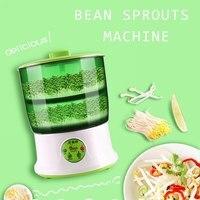 Mais novo 110 v/220 v máquina de broto feijão inteligência uso doméstico grande capacidade automática máquina brotos de feijão
