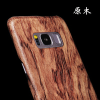 Real Wood Phone Case for Samsung S8 Plus Luxury Ultra Thin Real Wood Log Phone Cover for Samsung S8