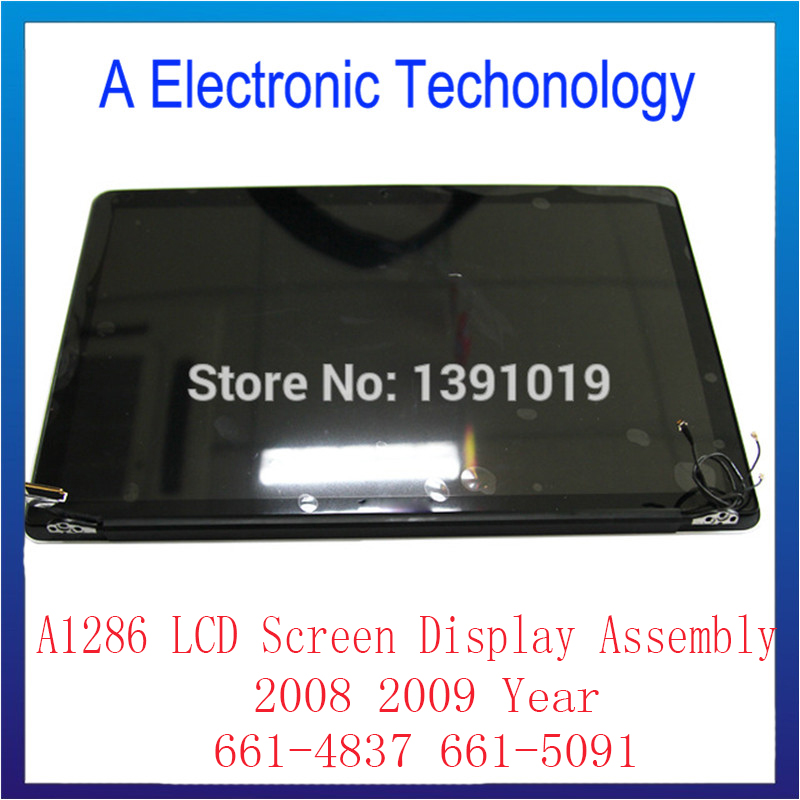 95% New Original For Apple Macbook Pro 15'' A1286 Full LCD Screen Display Assembly 661-4837 661-5091 Replacement For 2008 2009 raf simons x adidas низкие кеды и кроссовки