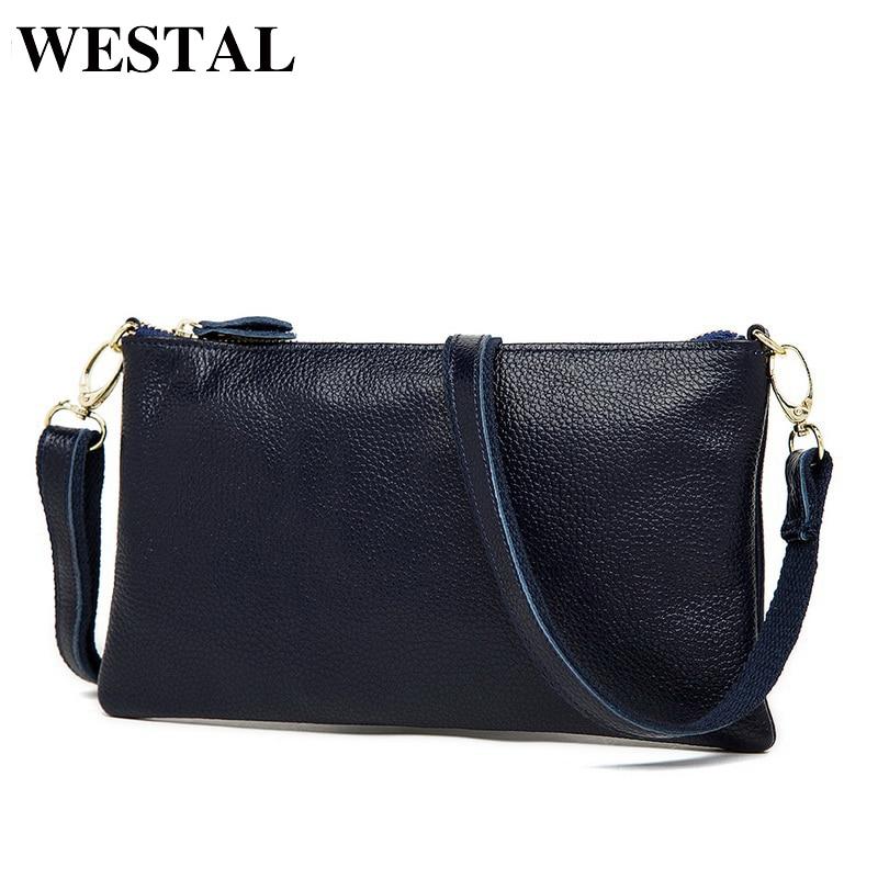 """""""WESTAL"""" natūralios odos krepšys moterims """"Messenger"""" maišeliai odos peties maišeliui moteriškoms kryžminėms maišelėms atsitiktinės moterys sankabos bolsa feminina"""