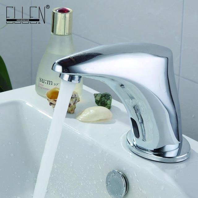 Aliexpress.com : Buy Automatic Inflated Sensor Bathroom Crane Mixer ...