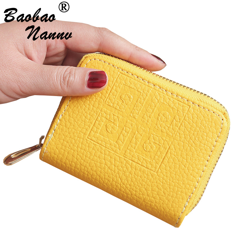 Zipper Lovely Leather Wallets New Women Wallet Fashion Girls Change Purse Money Coin Handbag Card Holders Wallets Carteras Femme