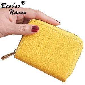 Zipper Lovely Leather Wallets