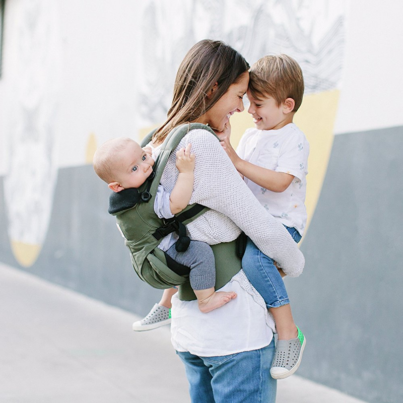 360 omni quatre positions ergonomique en coton bio porte-bébé Portable multifonctionnel enfant chariot wrap réglable bébé écharpe