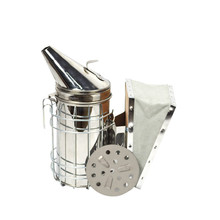 Beekeeping Tool Manual Bee Smoke Transmitter Stainless Steel Fumigator Apiculture Equipment Smoker