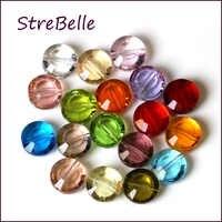 2019 new AAA 8 MILLIMETRI di cristallo di vetro perline elegent forma del pulsante di perle di creazione di gioielli 100 pz/lotto