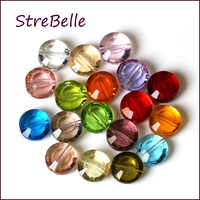 2019 nova AAA 8 MILÍMETROS grânulos de cristal de vidro botão forma elegent beads jewelry making 100 pçs/lote