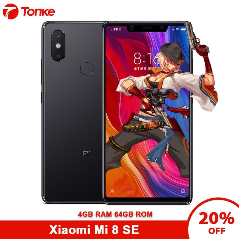 "Multi language Xiaomi Mi 8 SE Snapdragon 710 4GB RAM 64GB ROM Octa Core 5.88"" 2144x1080P Fingerprint ID Mobile Phone Cellphones    - AliExpress"