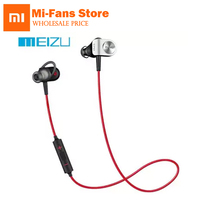Original Meizu EP51 Bluetooth HiFi Sports Earbuds Built In Mic On Cord Control IPX4 Waterproof Sweatproof
