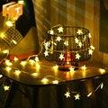 Светодиодный светильник Little Star 5 м 50 светодиодный s / 10 м 100 светодиодный s освещение для помещений рождественские огни